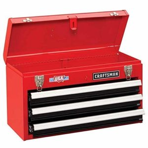 Craftsman 3-Drawer Toolbox Red