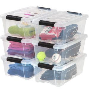 IRIS USA, Inc. TB-42 12 Quart Stack & Pull Box