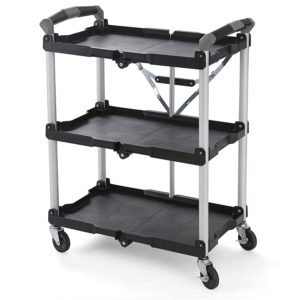 Olympia Tools 85-188 Pack-N-Roll Folding Collapsible Service Cart