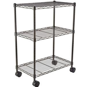 AmazonBasics 3-Shelf Shelving Storage Unit