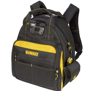 DEWALT DGL523 Lighted Tool Backpack Bag