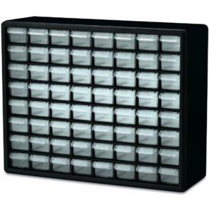 Akro-Mils 10164 64 Drawer Plastic Parts Storage Hardware