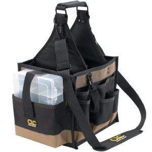 CLC Custom LeatherCraft 1528 Large Electrical and Maintenance Tool Carrier