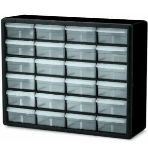 Akro-Mils 10124 24 Drawer Plastic Parts Storage Hardware