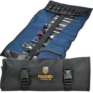 32 Pocket Tool Roll Organizer - Wrench Organizer & Tool Pouch