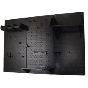 Pegboard Organizer Wall Control 4 ft. Metal Pegboard Standard Tool Storage Kit