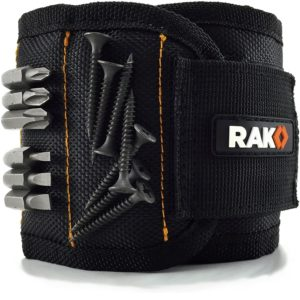RAK Magnetic Wristband with Strong Magnets for Holding Screws