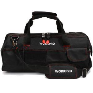 WORKPRO Close Top Storage Tool Bag, 18
