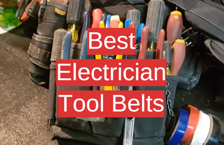 5 Best Electrician Tool Belts