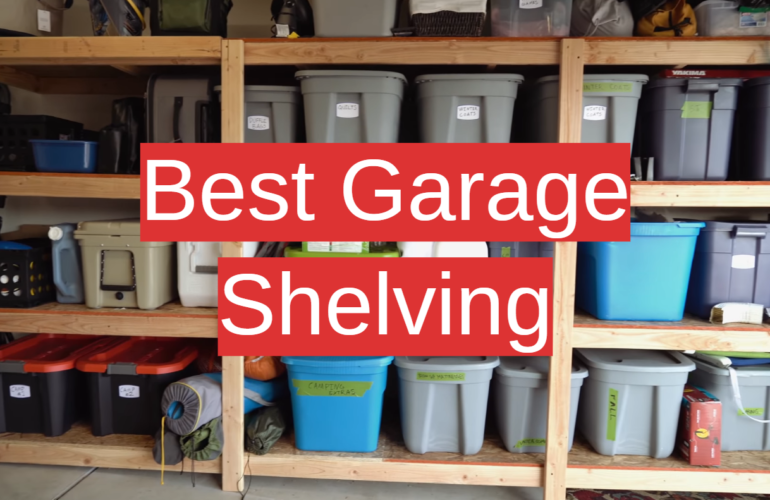 5 Best Garage Shelving