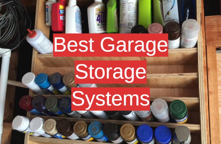 5 Best Garage Storage Systems