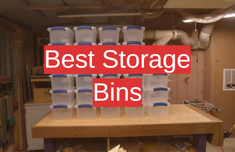 5 Best Storage Bins