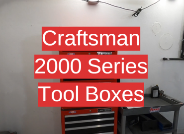 Craftsman 2000 Series Tool Boxes