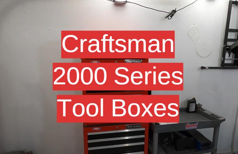 5 Craftsman 2000 Series Tool Boxes