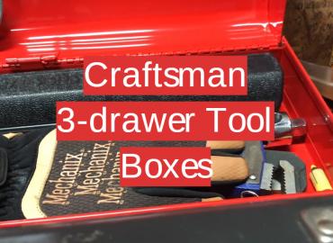 5 Craftsman 3-drawer Tool Boxes
