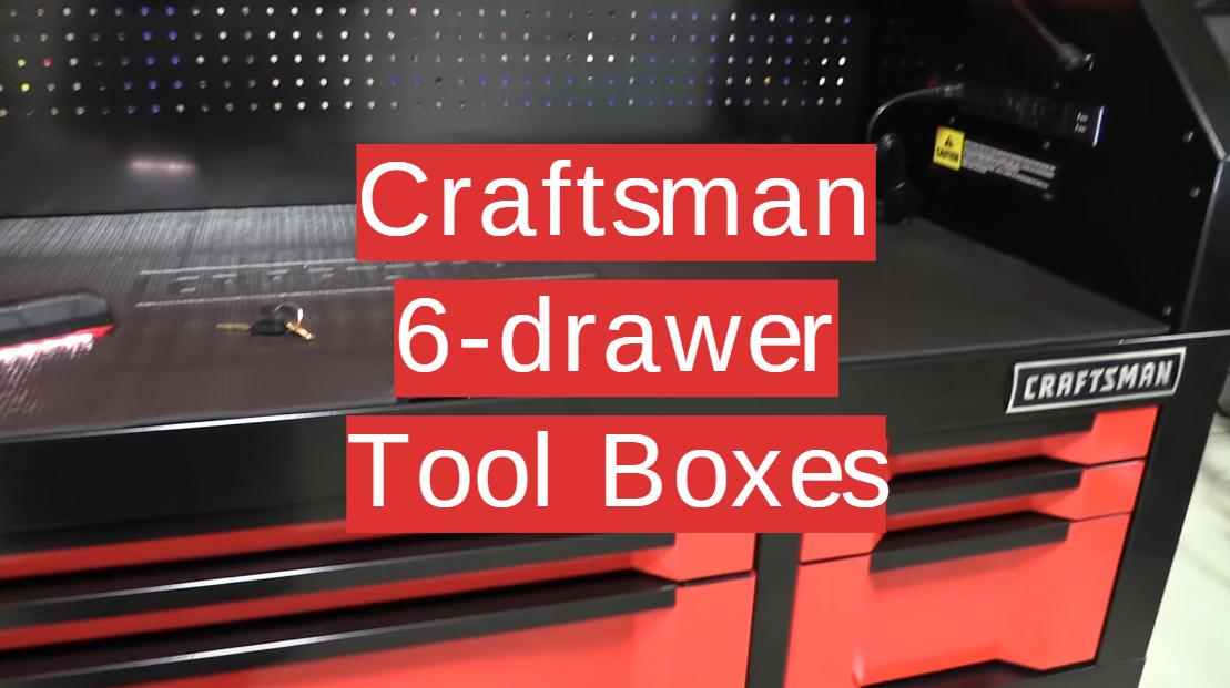 Craftsman 6-drawer Tool Boxes