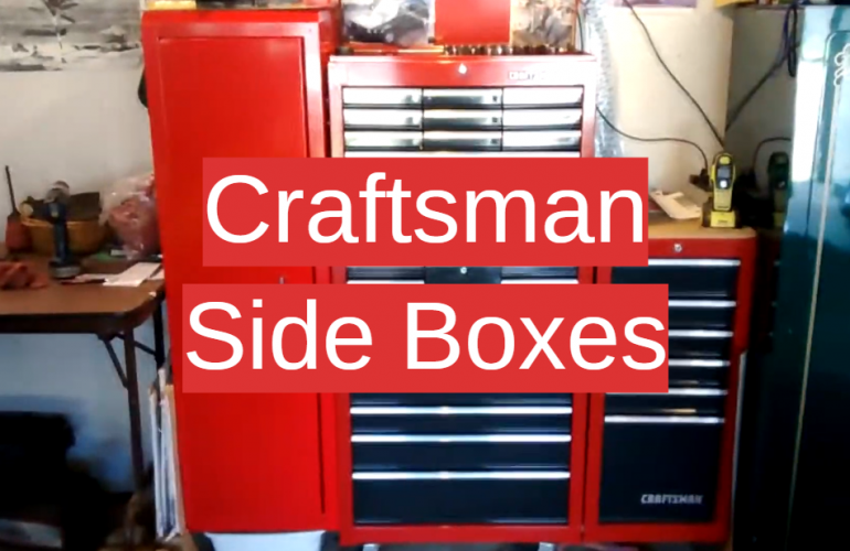 5 Craftsman Side Boxes
