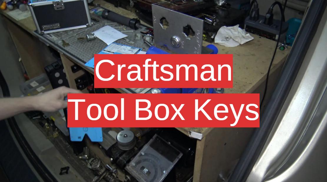 Craftsman Tool Box Keys