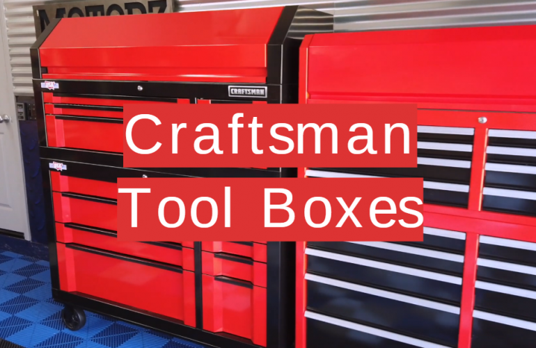 5 Craftsman Tool Boxes