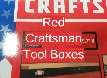 Red Craftsman Tool Boxes