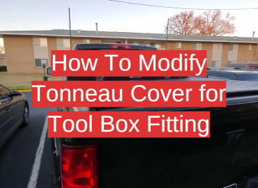 How To Modify Tonneau Cover for Tool Box Fitting